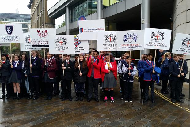 CoLAHG at the Lord Mayor's Show